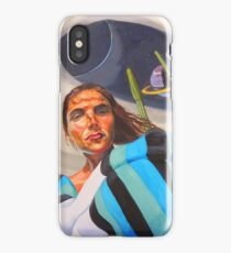 Planetary Peace (self portrait) iPhone Case