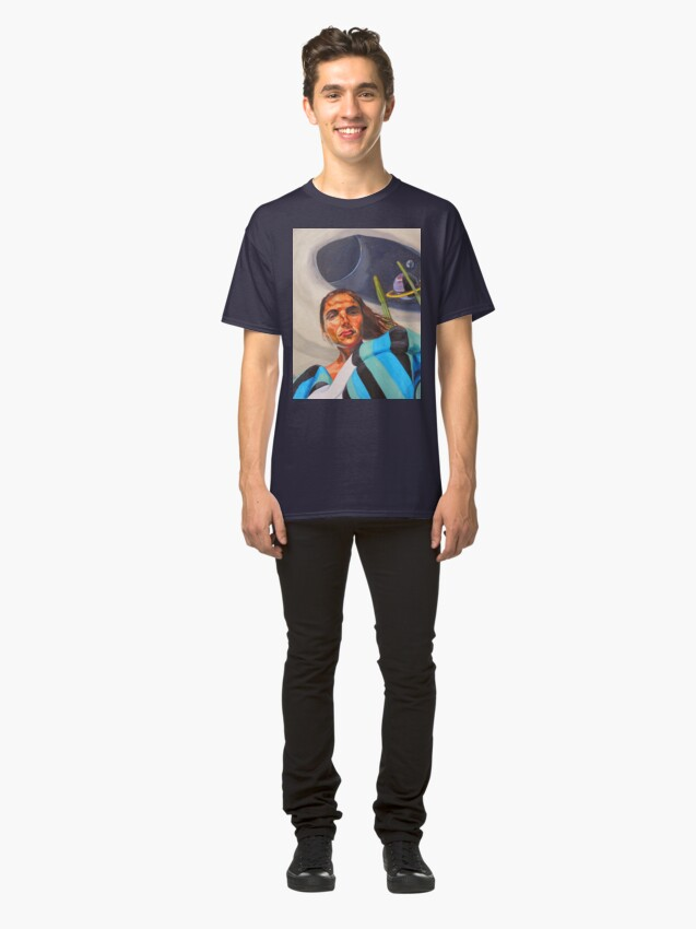 Alternate view of Planetary Peace (self portrait) Classic T-Shirt