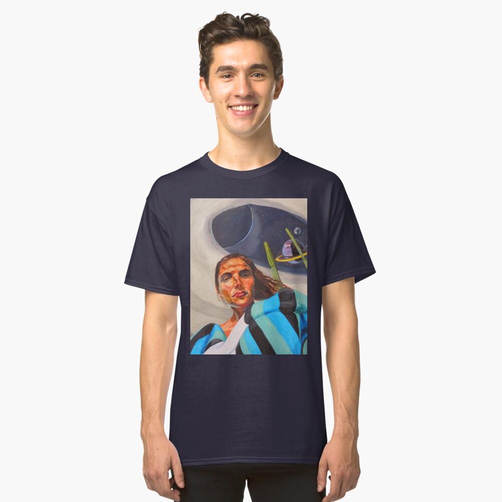 Planetary Peace (self portrait) Classic T-Shirt