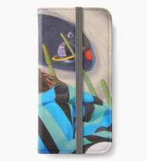 Planetary Peace (self portrait) iPhone Wallet/Case/Skin