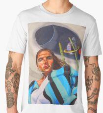 Planetary Peace (self portrait) Men's Premium T-Shirt