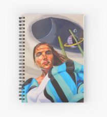Planetary Peace (self portrait) Spiral Notebook