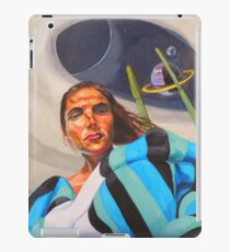 Planetary Peace (self portrait) iPad Case/Skin