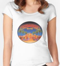 Casablanca Records Women's Fitted Scoop T-Shirt