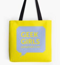 GEEK GIRLS logo Tote Bag