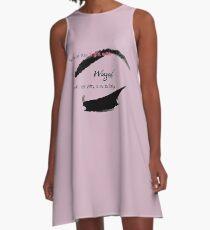 Eyeliner A-Line Dress