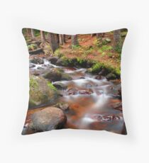 Dying Forest Throw Pillow