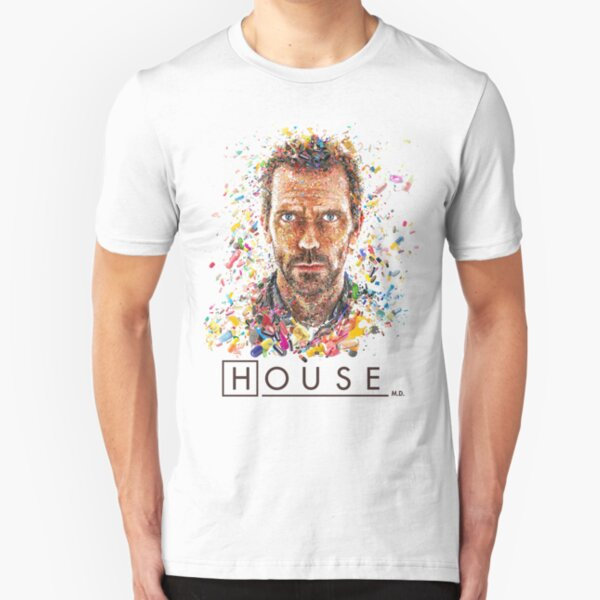 House TV Show Dr House Quote EVERYBODY LIES Licensed T-Shirt All Sizes
