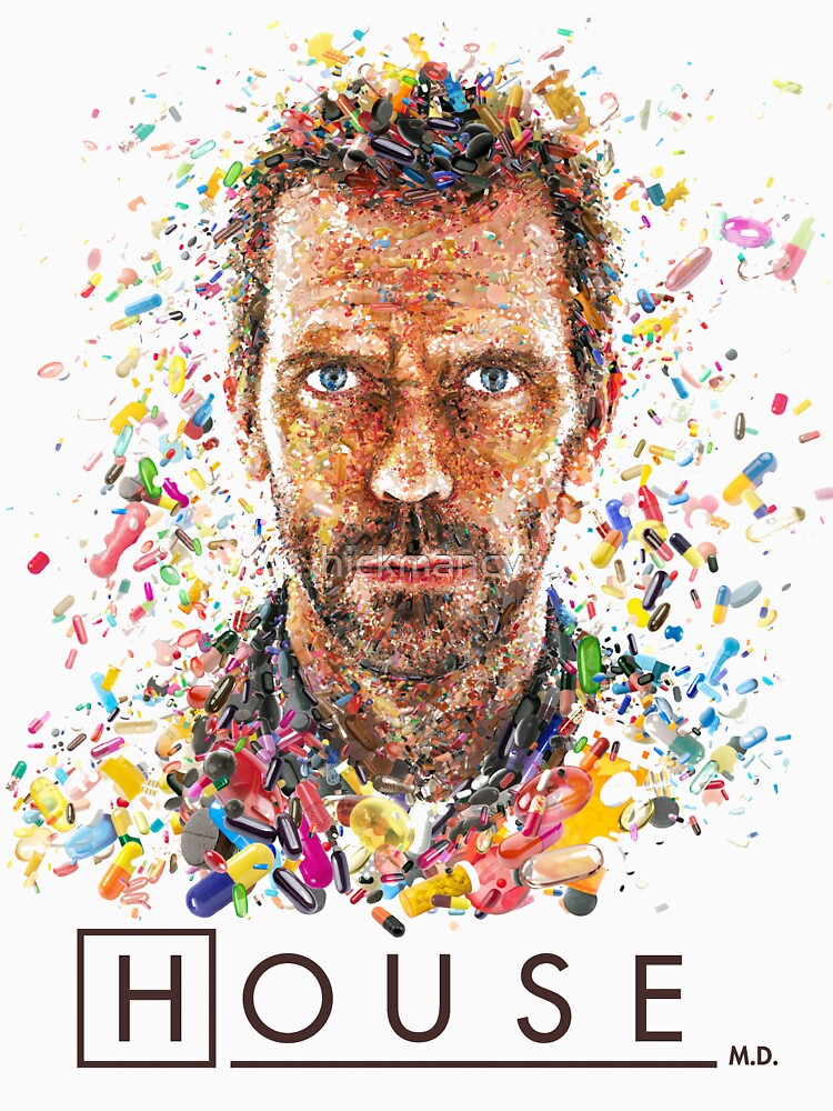 House MD - Pills  | Unisex T-Shirt
