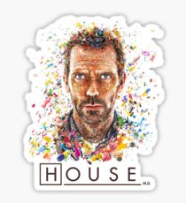 House MD - Pills  Sticker