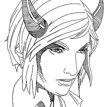 Chloe Horns by mavisshelton