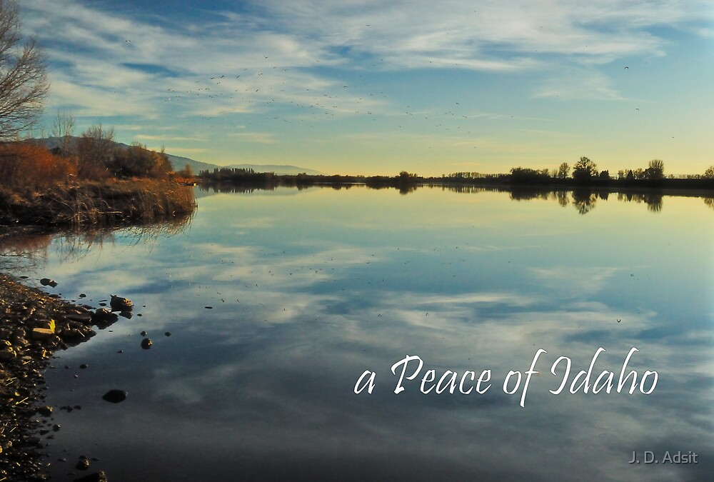 a Peace of Idaho by J. D. Adsit