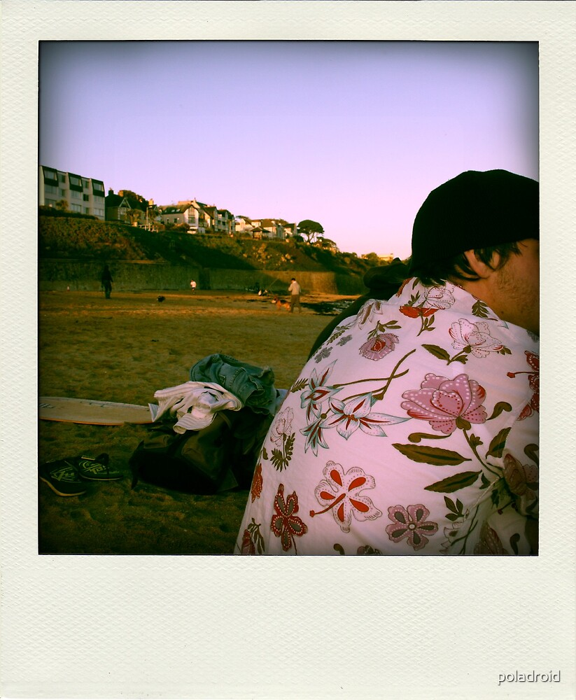 the casual approach to a gathering by poladroid