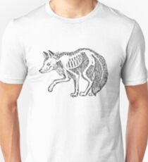 Red Fox Skelly  Unisex T-Shirt