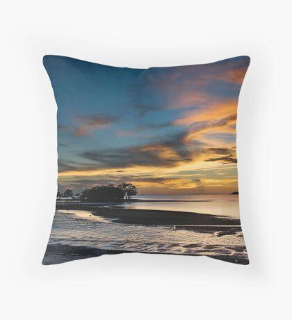Beautiful Dusk @ Port Dickson Throw Pillow