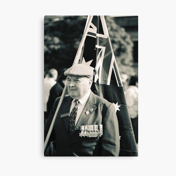 Melbourne ANZAC day parade ca.2001 - 03 Canvas Print