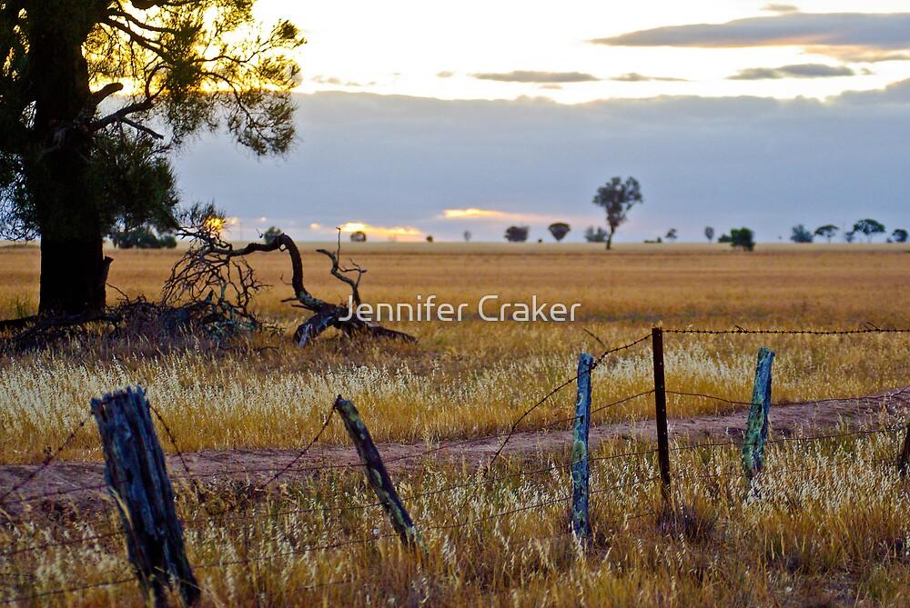 Incoming Sunset by Jennifer Craker