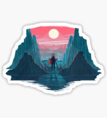 The Lone Knight Sticker