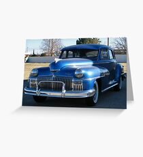 Old De Soto Greeting Card
