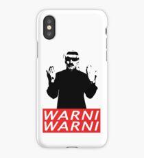 Warni Warni iPhone Case/Skin