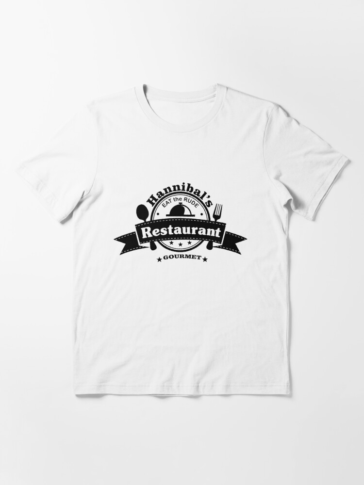 Alternate view of Hannibal - Eat the Rude Essential T-Shirt