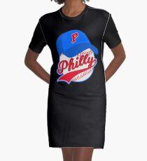 Philly Baseball Philadelphia Pennsylvania Philadelphian Fans Graphic T-Shirt Dress