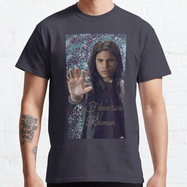 Diseño de Cisco Ramon Teal Camiseta clásica