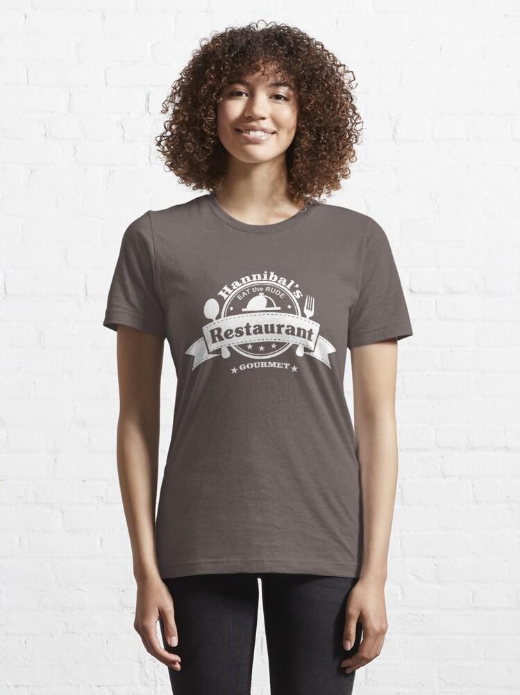 Alternate view of Hannibal Restaurant Essential T-Shirt