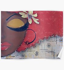 Sassy Chocolate Girl, African American Poster