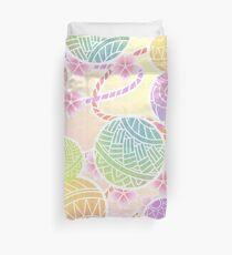 Colorful temari Duvet Cover