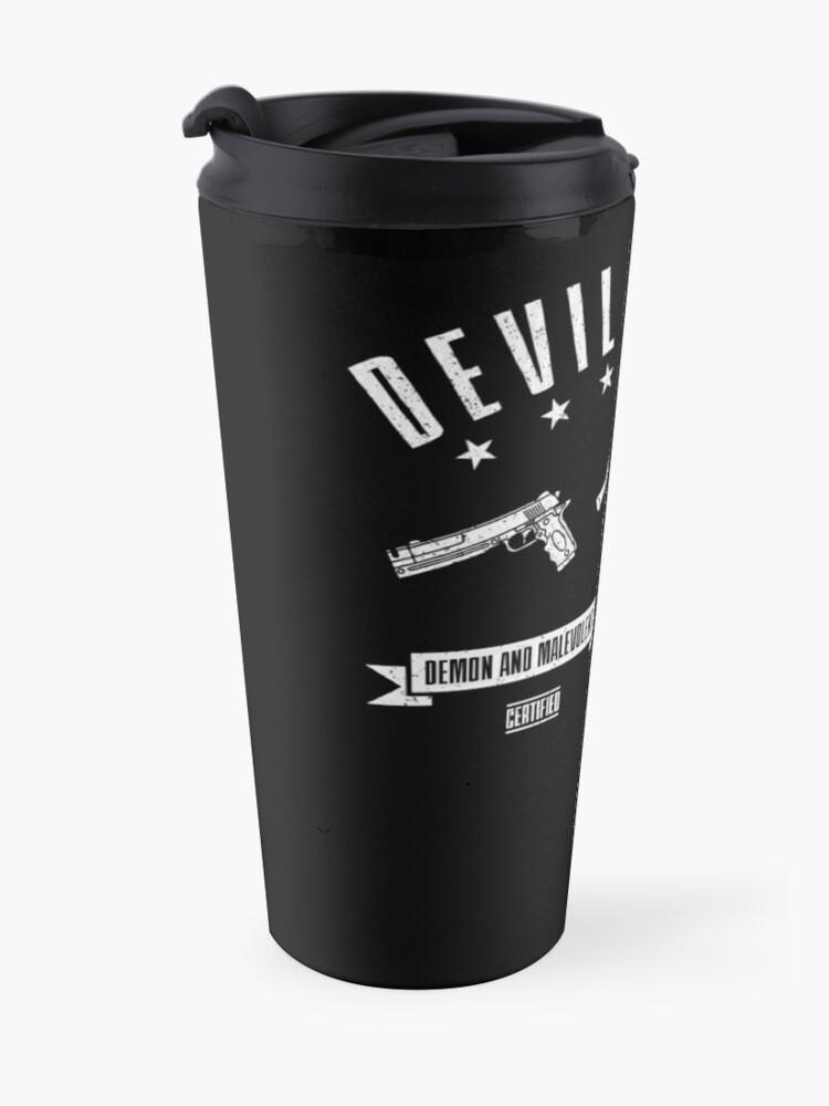 Alternate view of Devil Hunter Travel Mug
