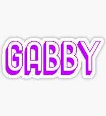 GABBY - PURPLE  Sticker