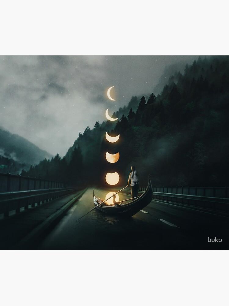 Moon Ride by buko