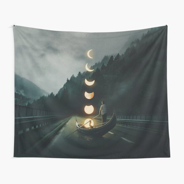 Moon Ride Tapestry