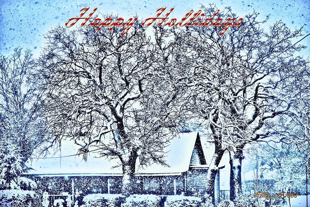 Happy Holidays by Pat Moore