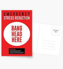 Emergency Stress Reduction Postcards