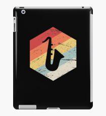 Retro Vintage Saxophone Icon iPad Case/Skin