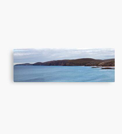Sandwood Bay and Cape Wrath Panorama Canvas Print