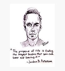 Jordan Peterson Photographic Print