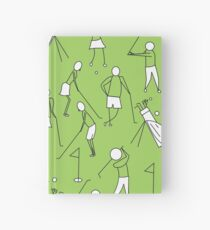 Golf - Simple golf sketches  Hardcover Journal