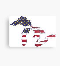United Lakes of America Metal Print