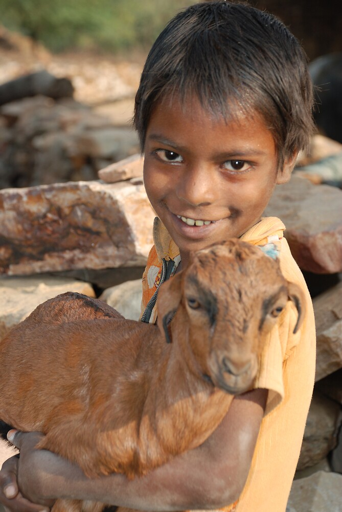 Child of Rajasthan by John Kardys