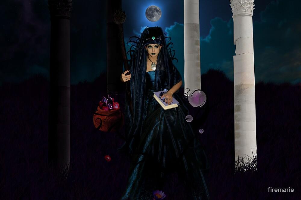 The High Priestess Widescreen by firemarie