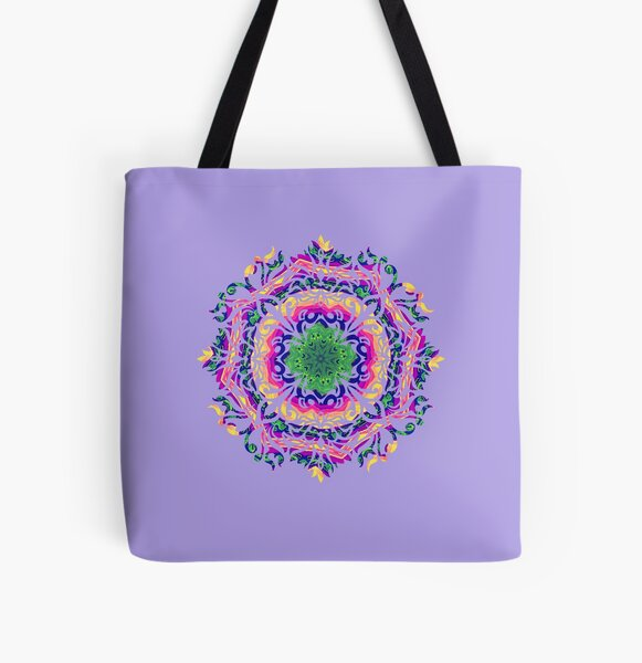 The Color Of Love (Lavender) All Over Print Tote Bag