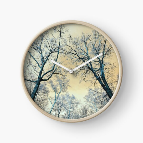 Trees Infrared  Clock
