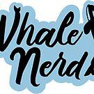 Whale Nerd Sticker by derangedhyena