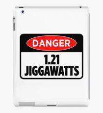 Danger 1.21 Jiggawatts Sticker & T-Shirt - Gift For Movie Lover iPad Case/Skin