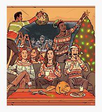 Happy Earpin' Holidays Photographic Print