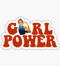 GIRL POWER Rosie The Riveter Sticker