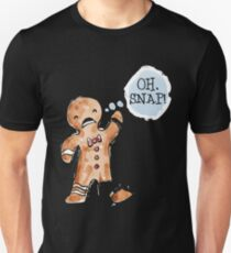 Oh Snap Gingerbread Gifts Merchandise Redbubble